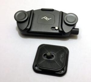 I miei accessori fotografici: supporto per zaini e cinture