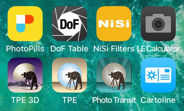 Applicazioni per fotografia