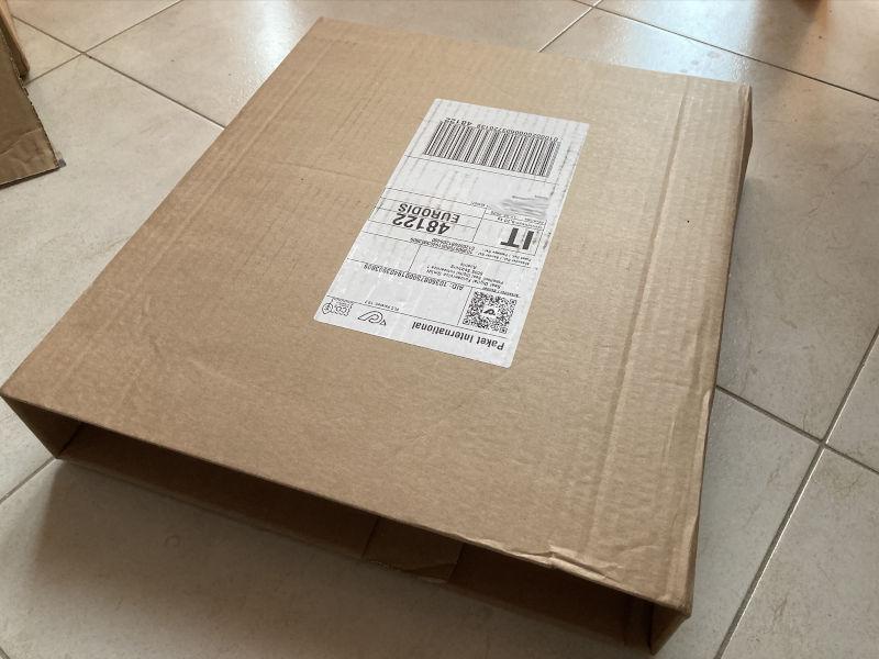 Fotolibro Saal Digital - Recensione - pacco